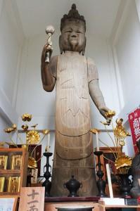 十一面観音菩薩像 全体
