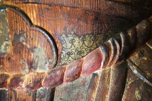 甲冑の文字