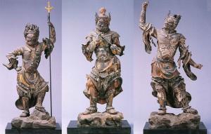 薬王院 十二神将像