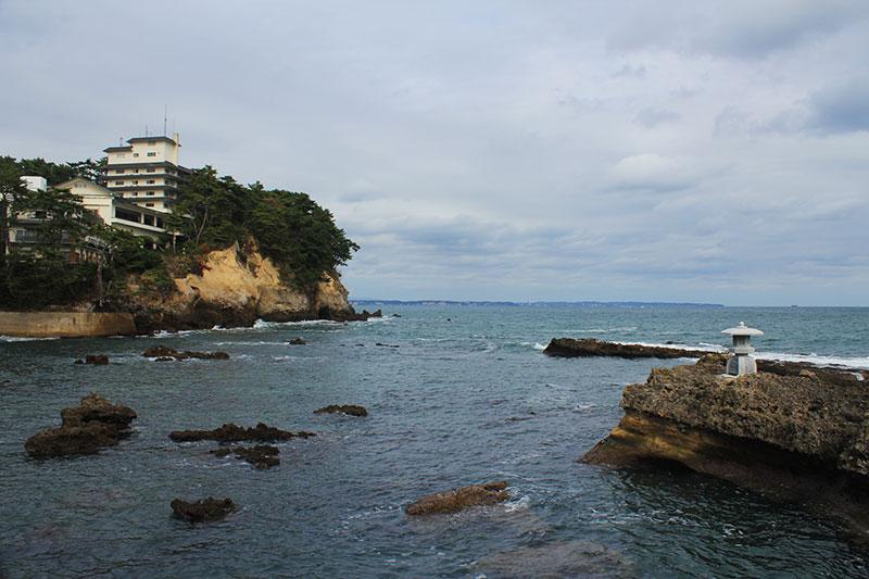 五浦の海の眺め