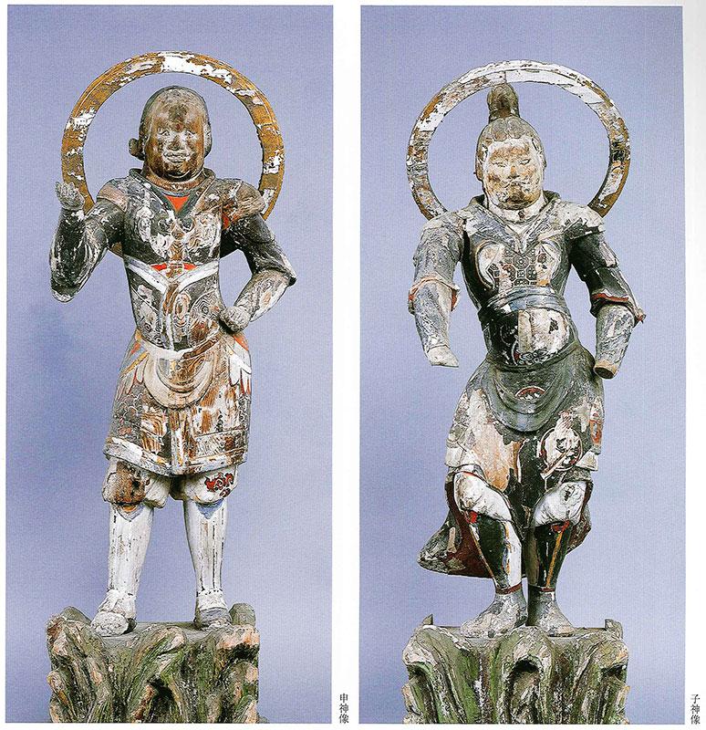 瑜伽寺 十二神将像