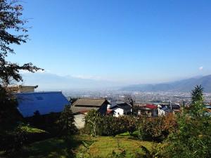 福光園寺からの眺め