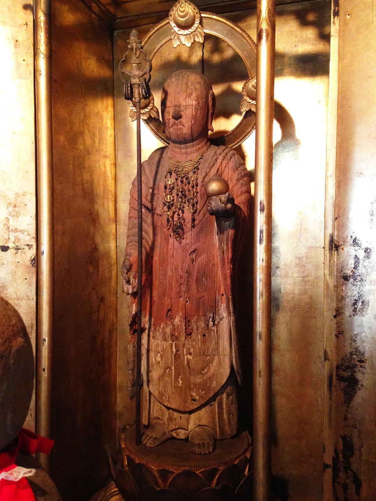 地蔵菩薩立像全体