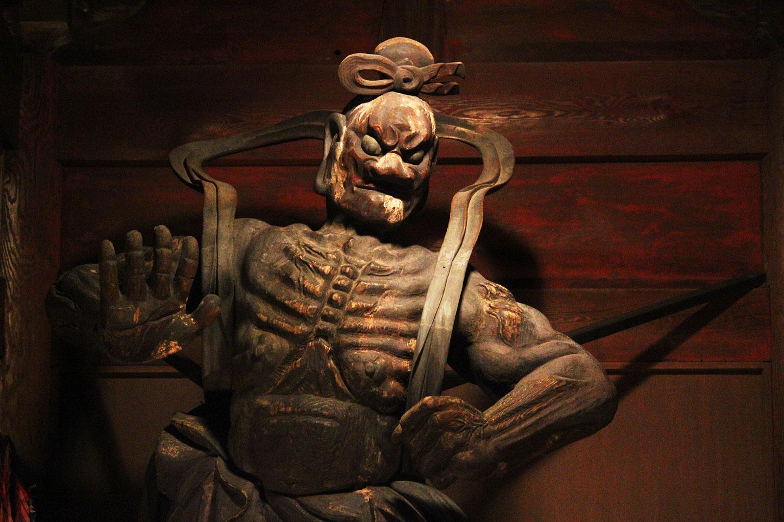 黒仁王(吽形)