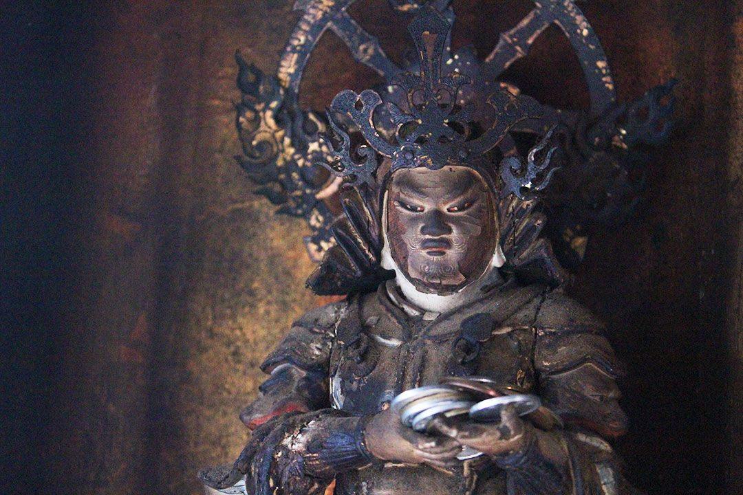 華厳寺の天部像