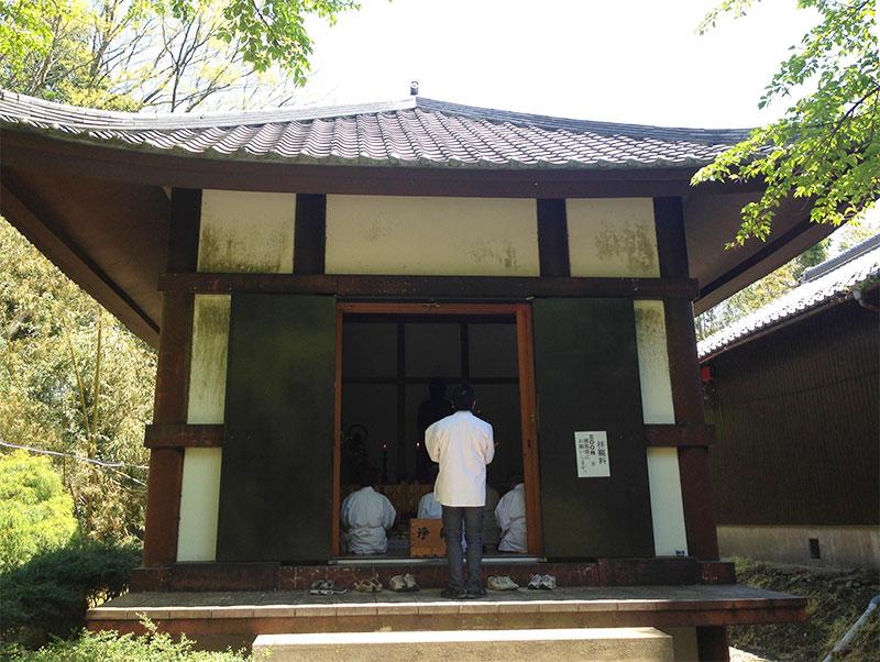 竹林寺収蔵庫