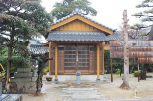 浄名寺 円空仏が入っているお堂