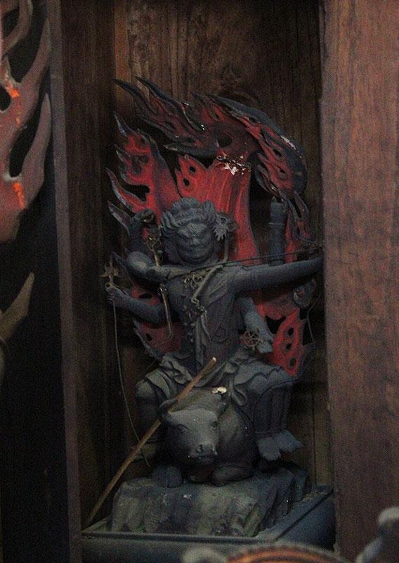 大威徳明王像