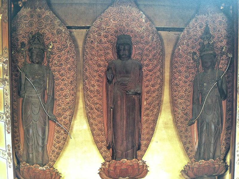 寛永寺薬師三尊像