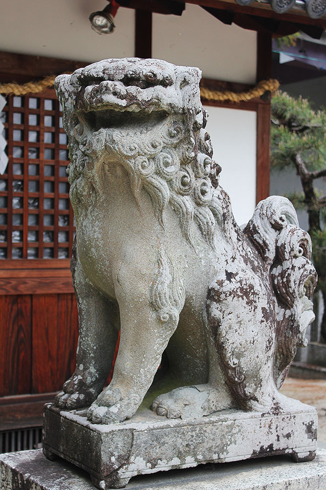 狛犬 阿形