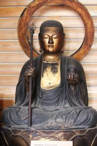 地蔵菩薩像全体