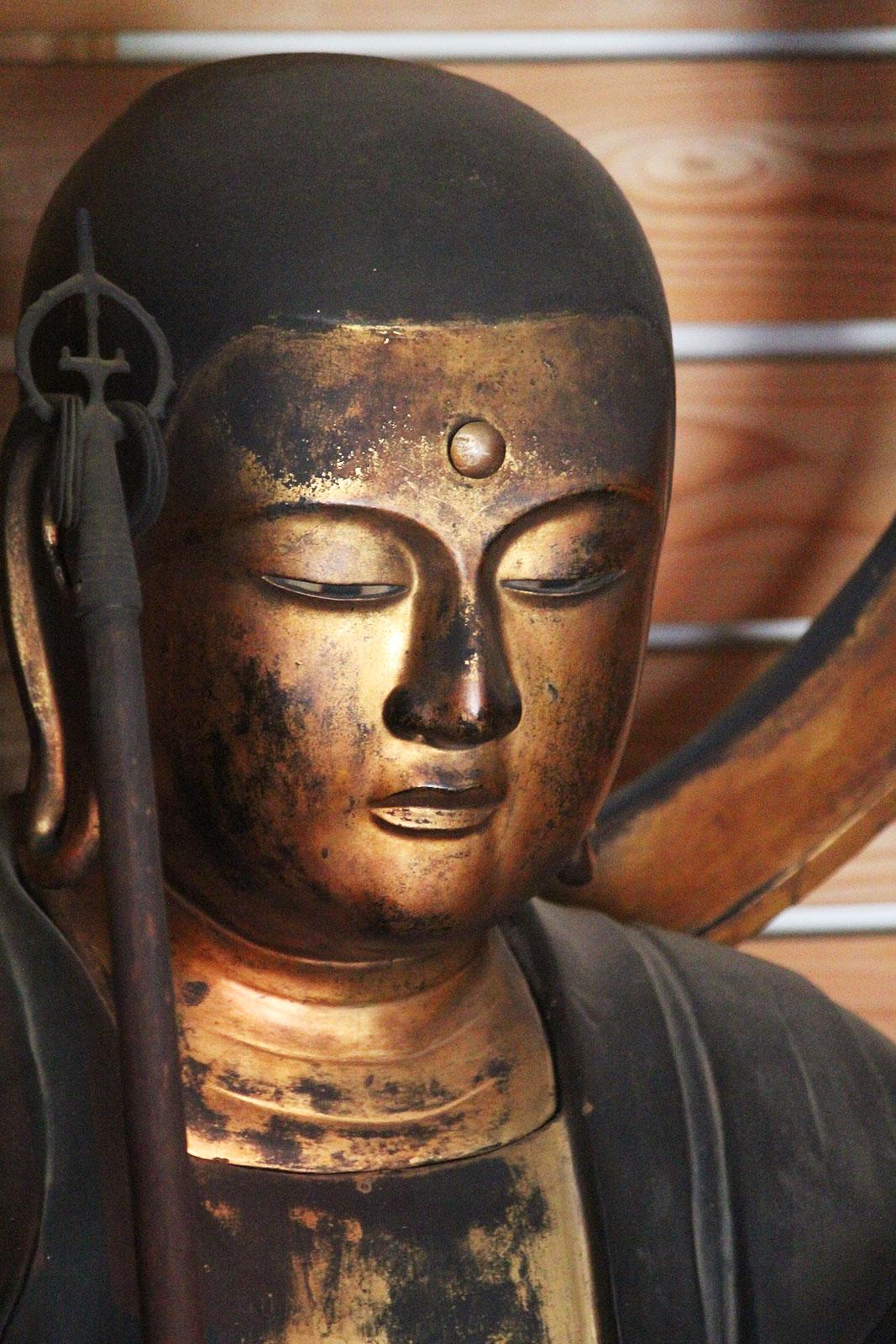 地蔵菩薩像近影