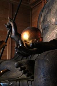 地蔵菩薩像 両手