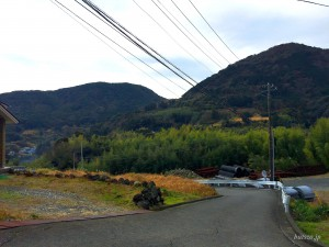 地福院門前の風景