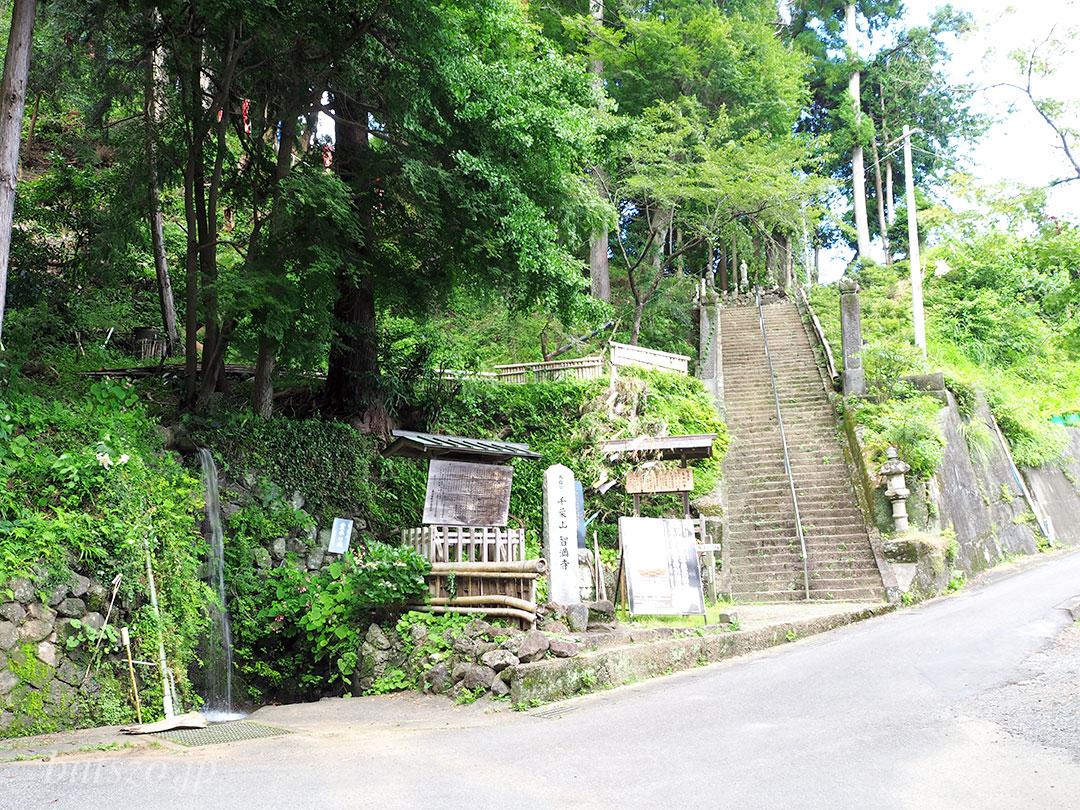 門前茶屋前の風景