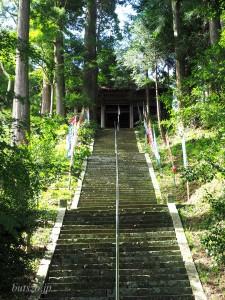 智満寺の最後の石段