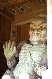 仁王(吽形)の写真