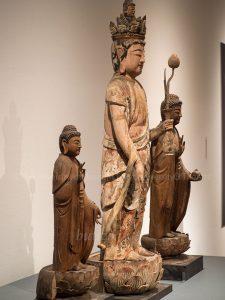 浄光寺 三尊像 側面