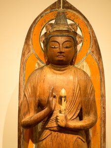 洞寿院 聖観音立像 上半身