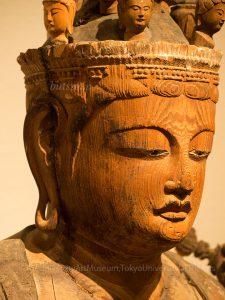 岡本神社 十一面観音坐像 表情