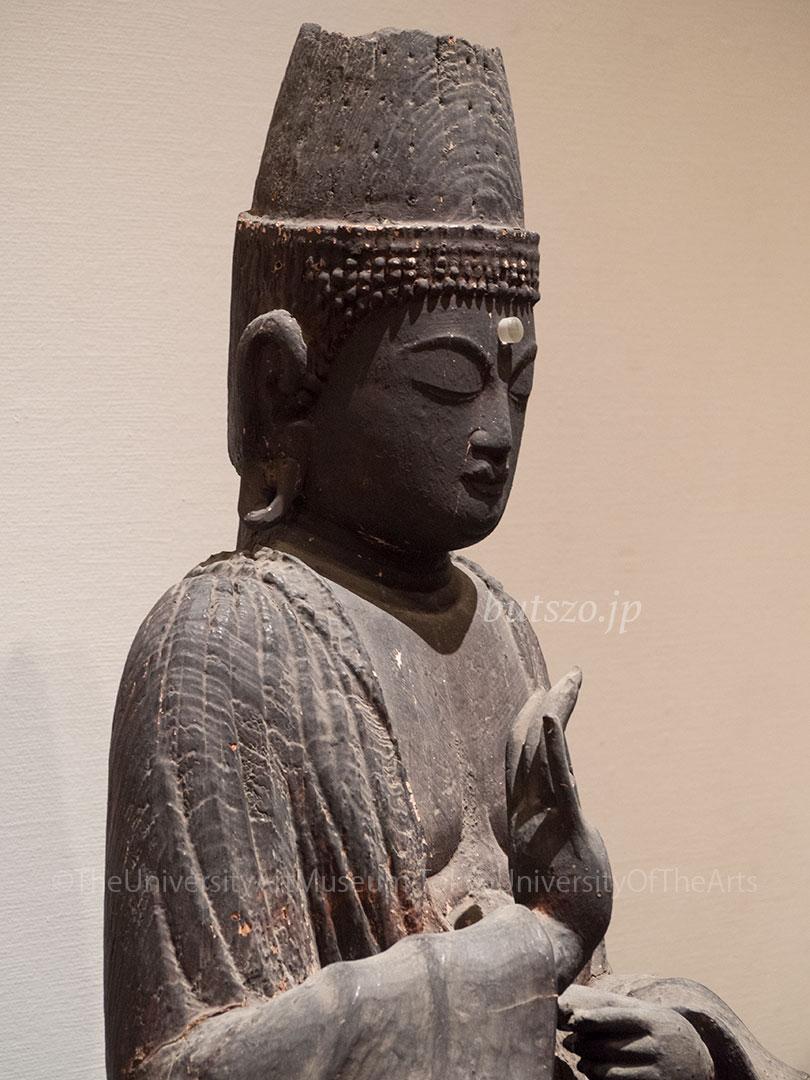 竹蓮寺 宝冠阿弥陀坐像