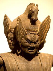 徳円寺 馬頭観音立像 表情