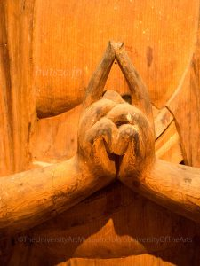 横山神社 馬頭観音像 指