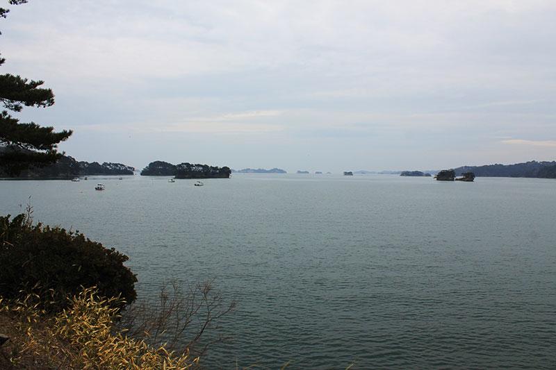 五大堂からの松島