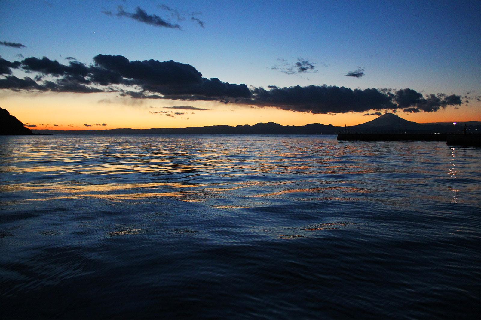 江ノ島からの夕景