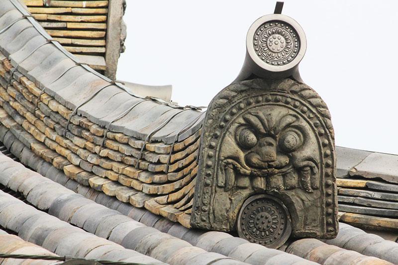 新薬師寺鬼瓦