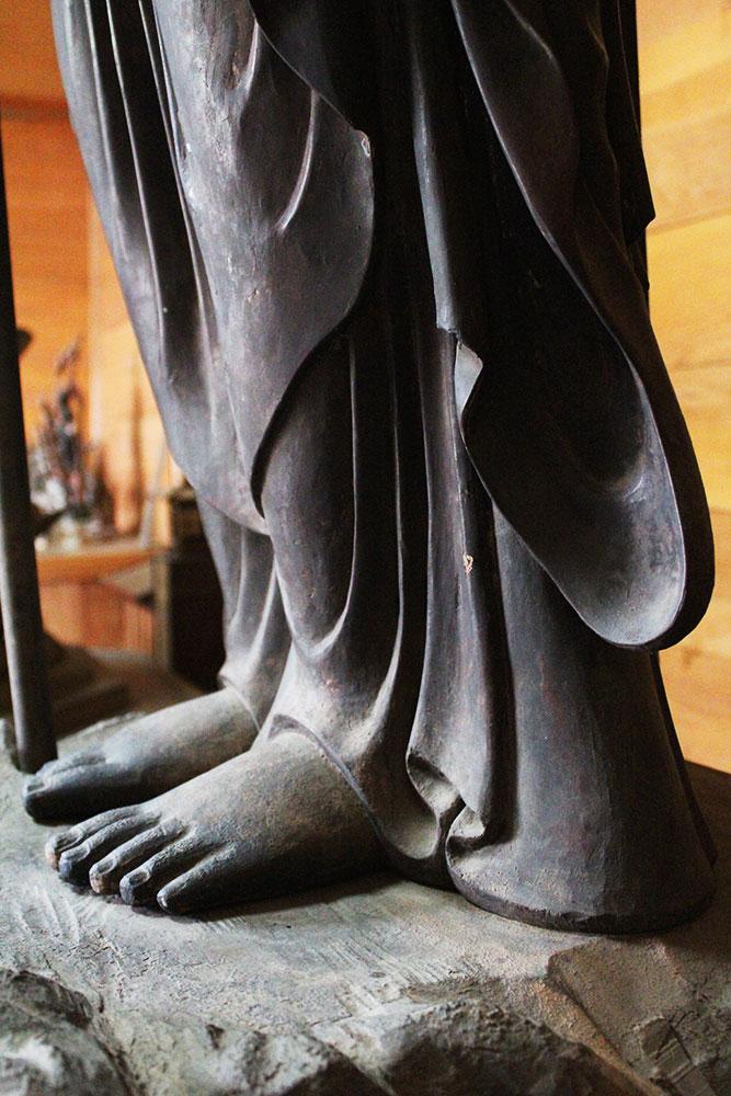 地蔵菩薩 足
