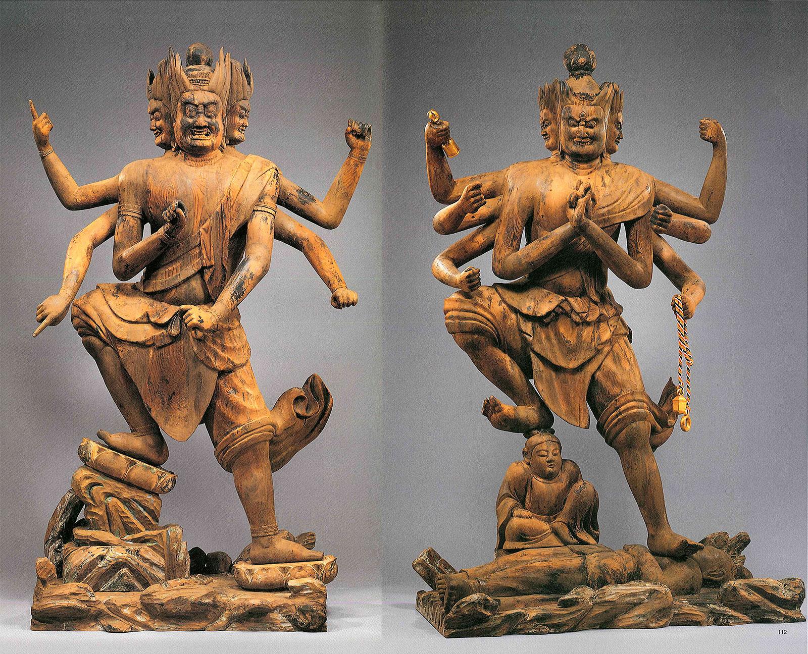 壽法寺 二明王像