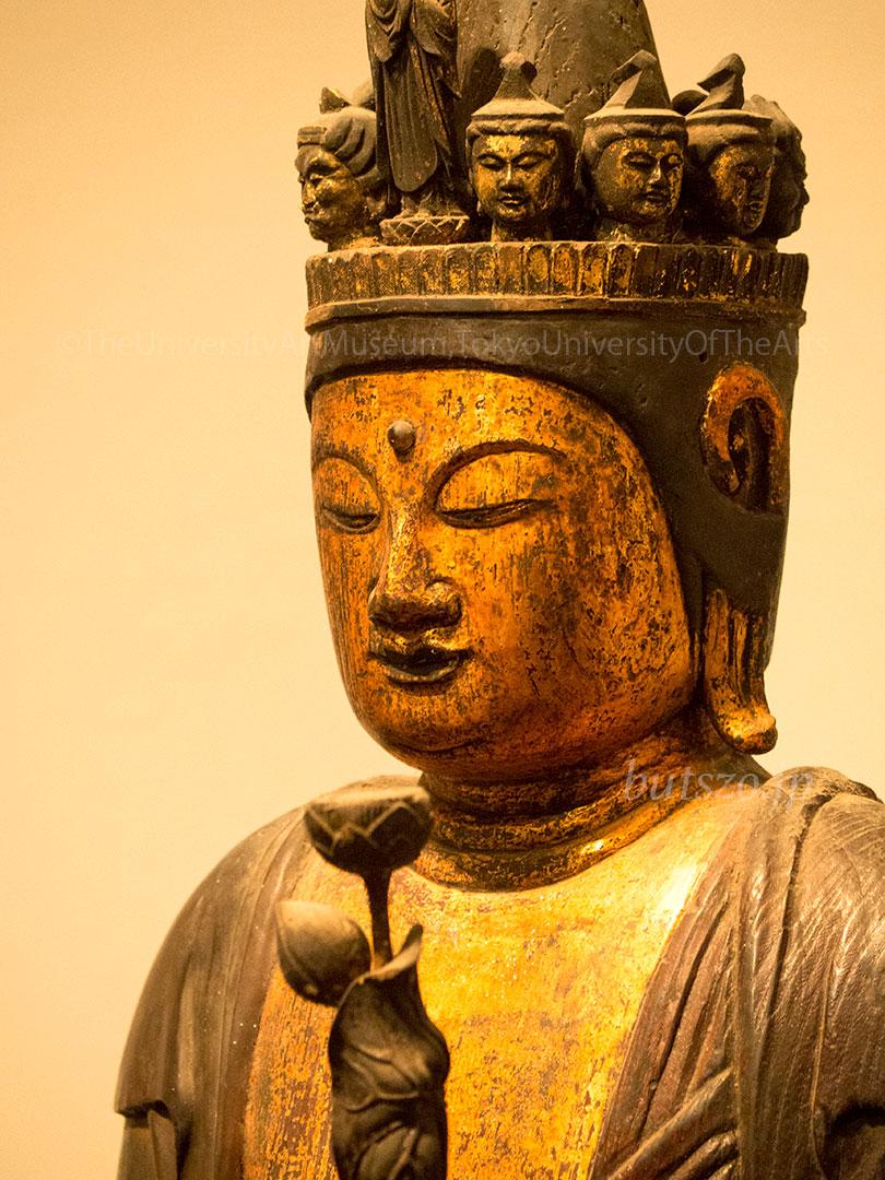 石道寺 十一面観音立像 表情