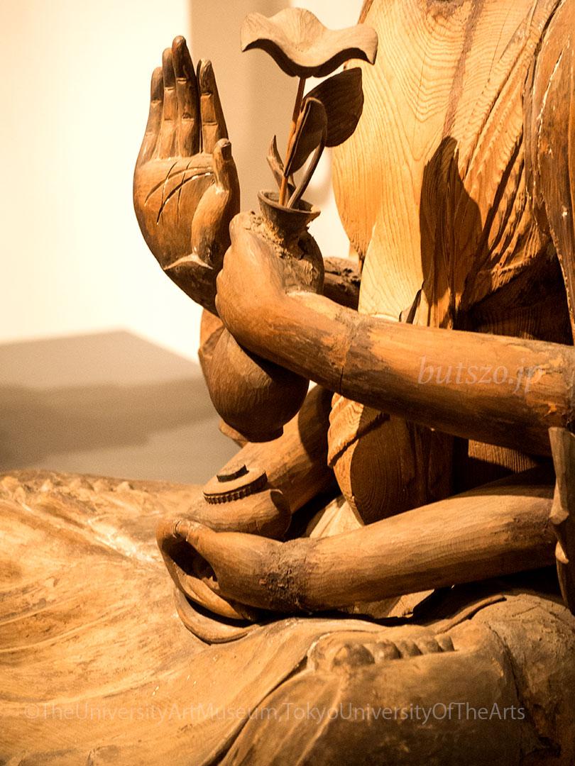 岡本神社 十一面観音坐像 腕