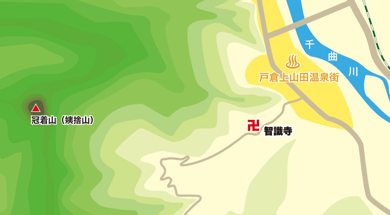 智識寺map
